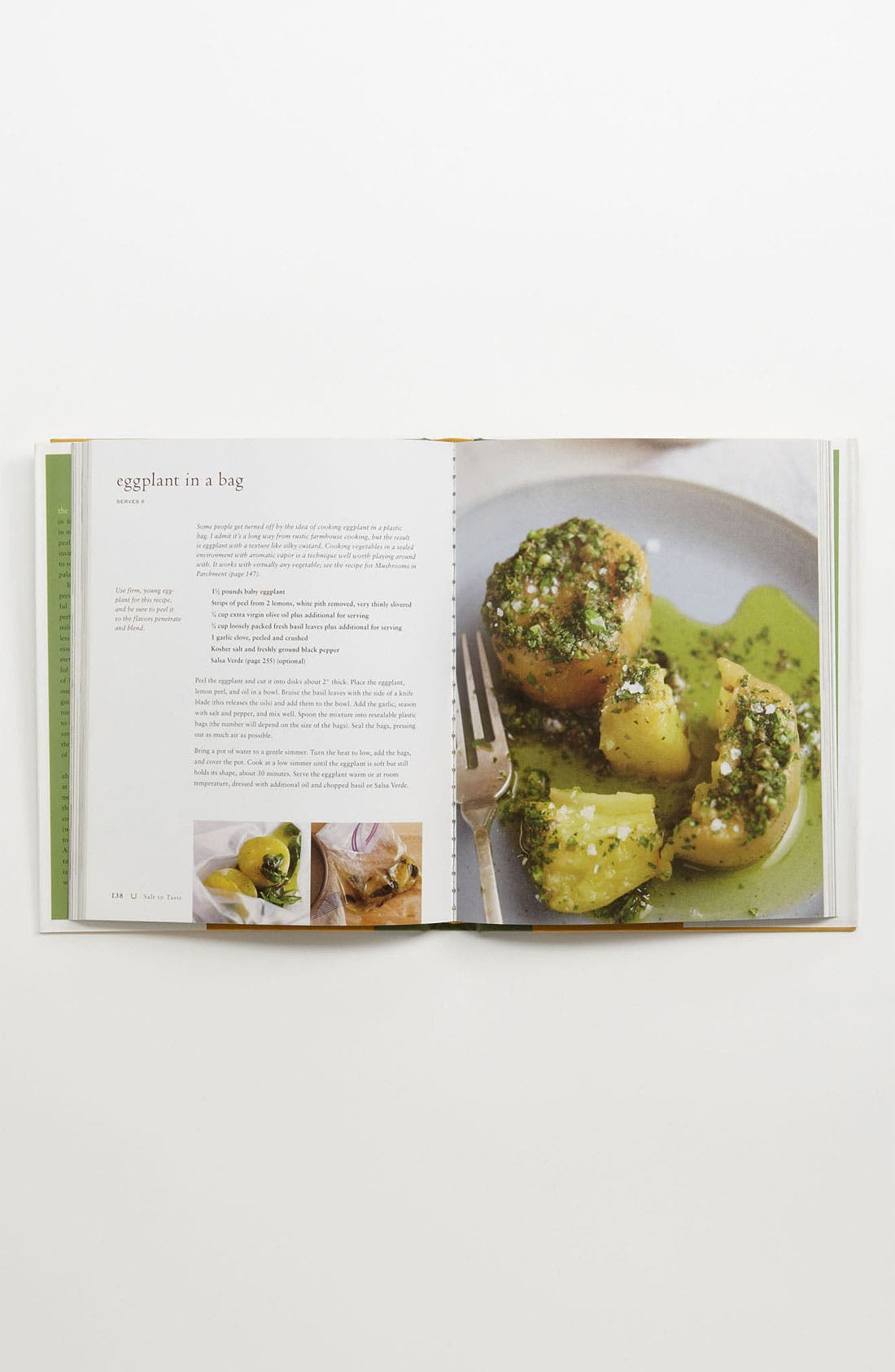 'Salt to Taste' Cookbook,                             Alternate thumbnail 2, color,                             No Color
