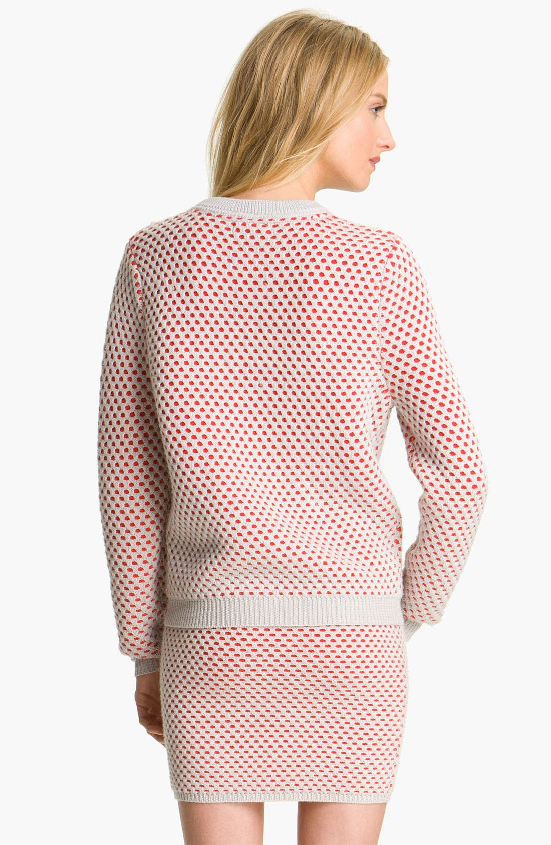 Alternate Image 2  - Opening Ceremony Bicolor Honeycomb Knit Sweater