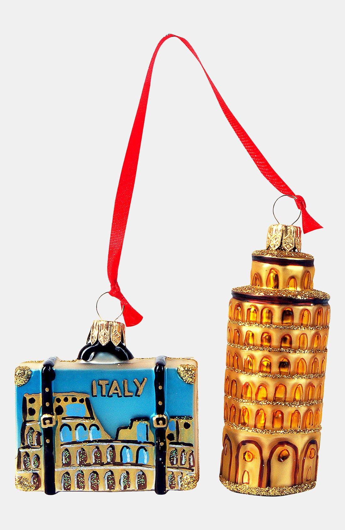 Alternate Image 1 Selected - Nordstrom at Home 'Italy Mini Set' Glass Ornament