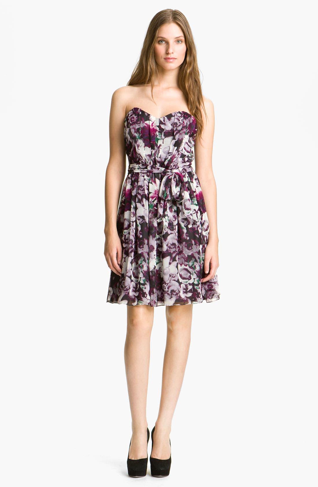 Main Image - Mcginn 'Iris' Floral Print Dress