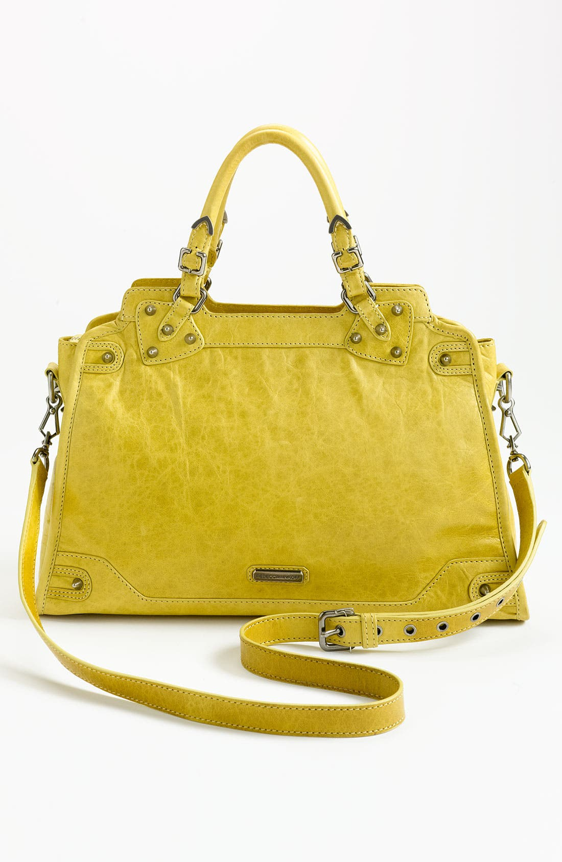 Alternate Image 4  - Rebecca Minkoff 'Desire' Studded Satchel