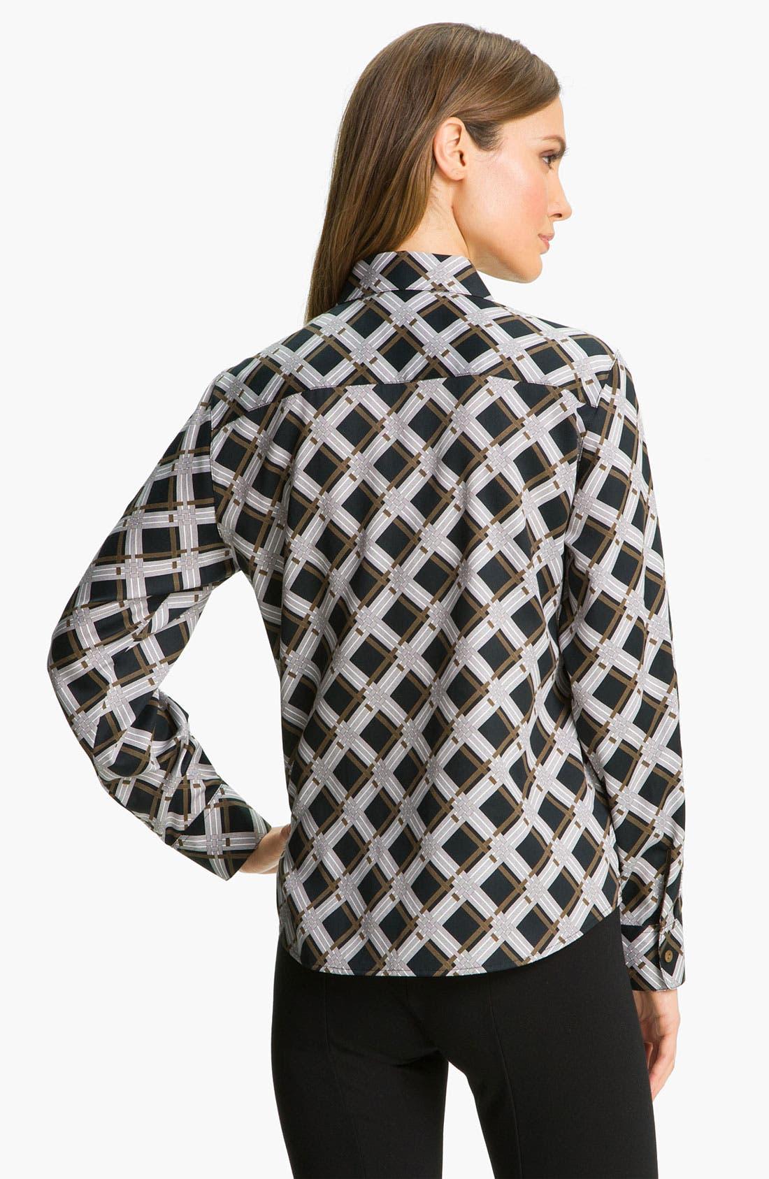 Alternate Image 2  - Foxcroft Graphic Plaid Shirt