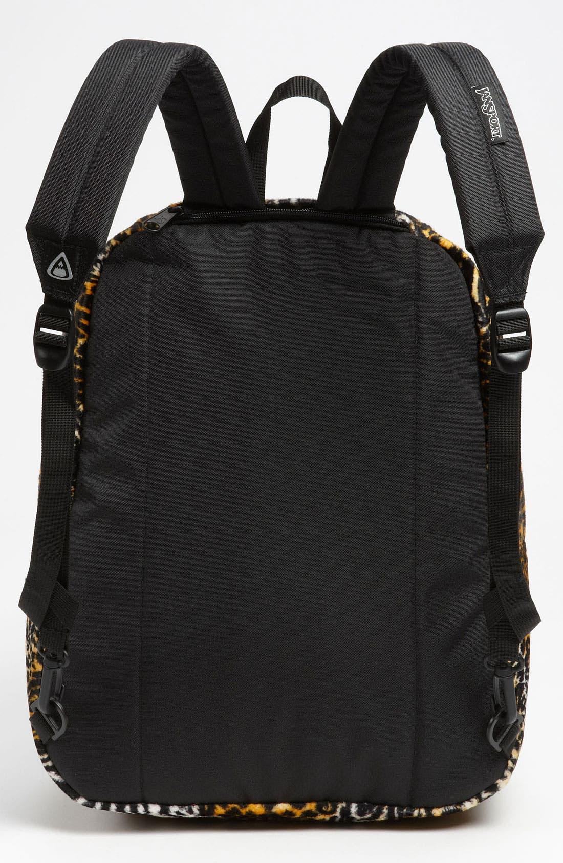 Alternate Image 3  - Jansport Animal Print Reversible Backpack