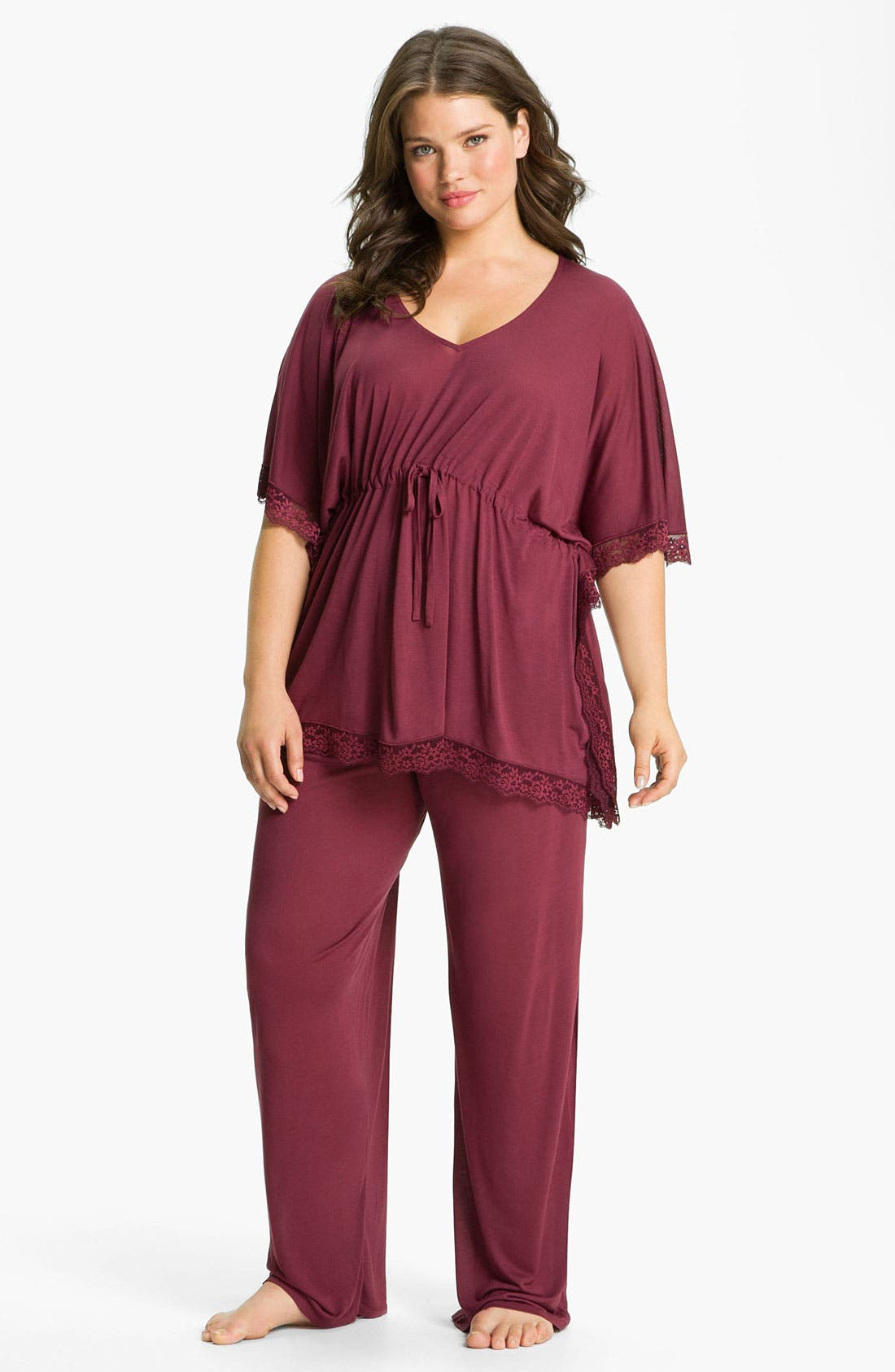 Main Image - Midnight by Carole Hochman 'Everlasting Love' Pajamas (Plus)
