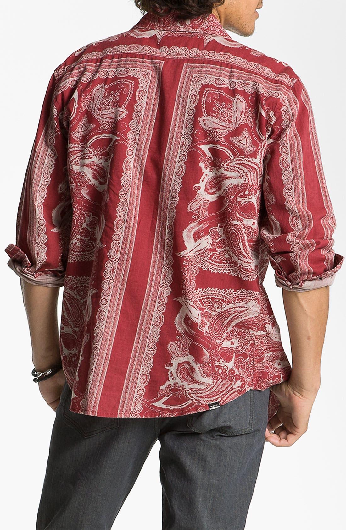 Alternate Image 2  - Insight 'Del Monte' Paisley Print Shirt