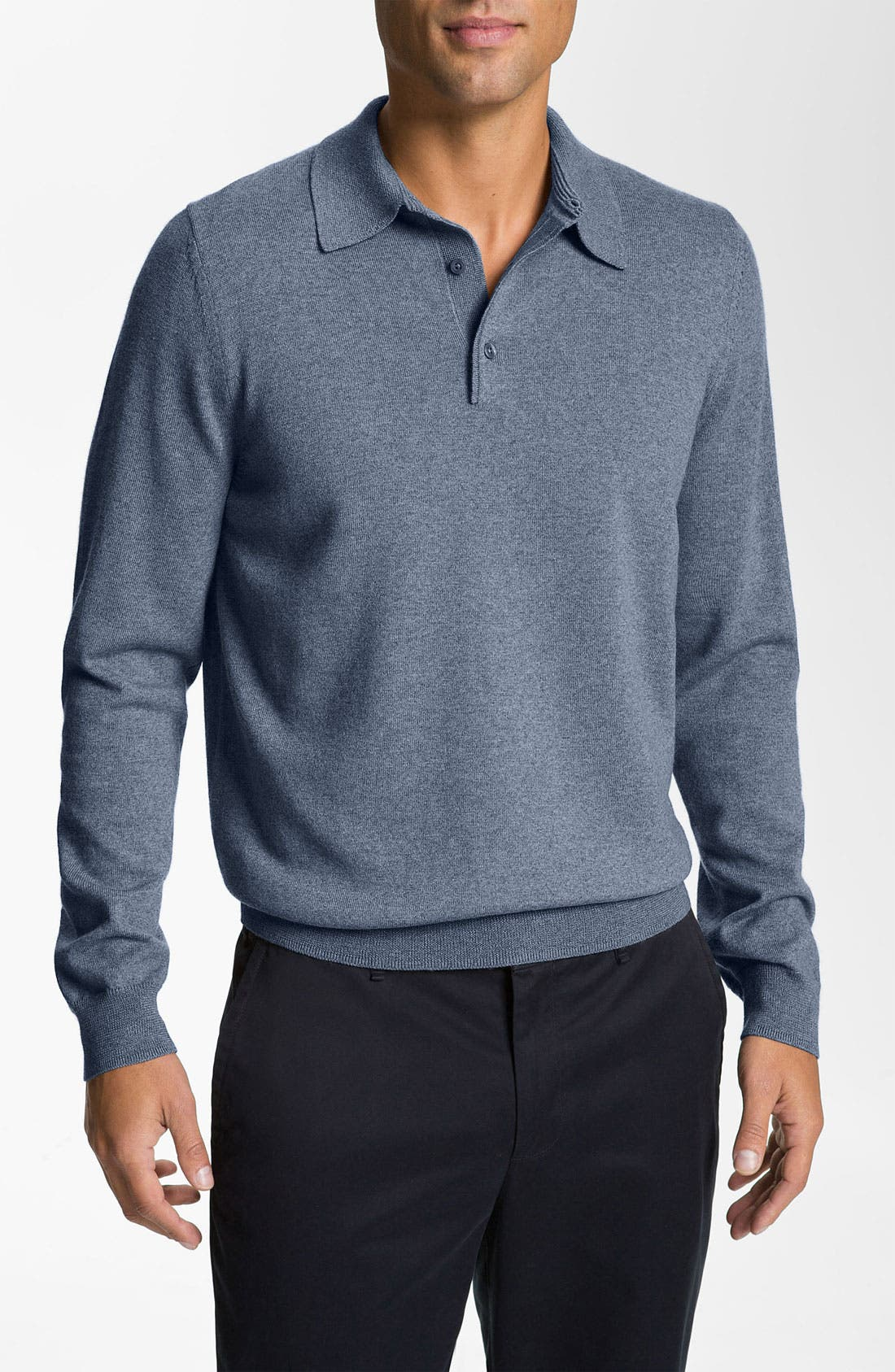 Alternate Image 1 Selected - Nordstrom Merino Wool Polo