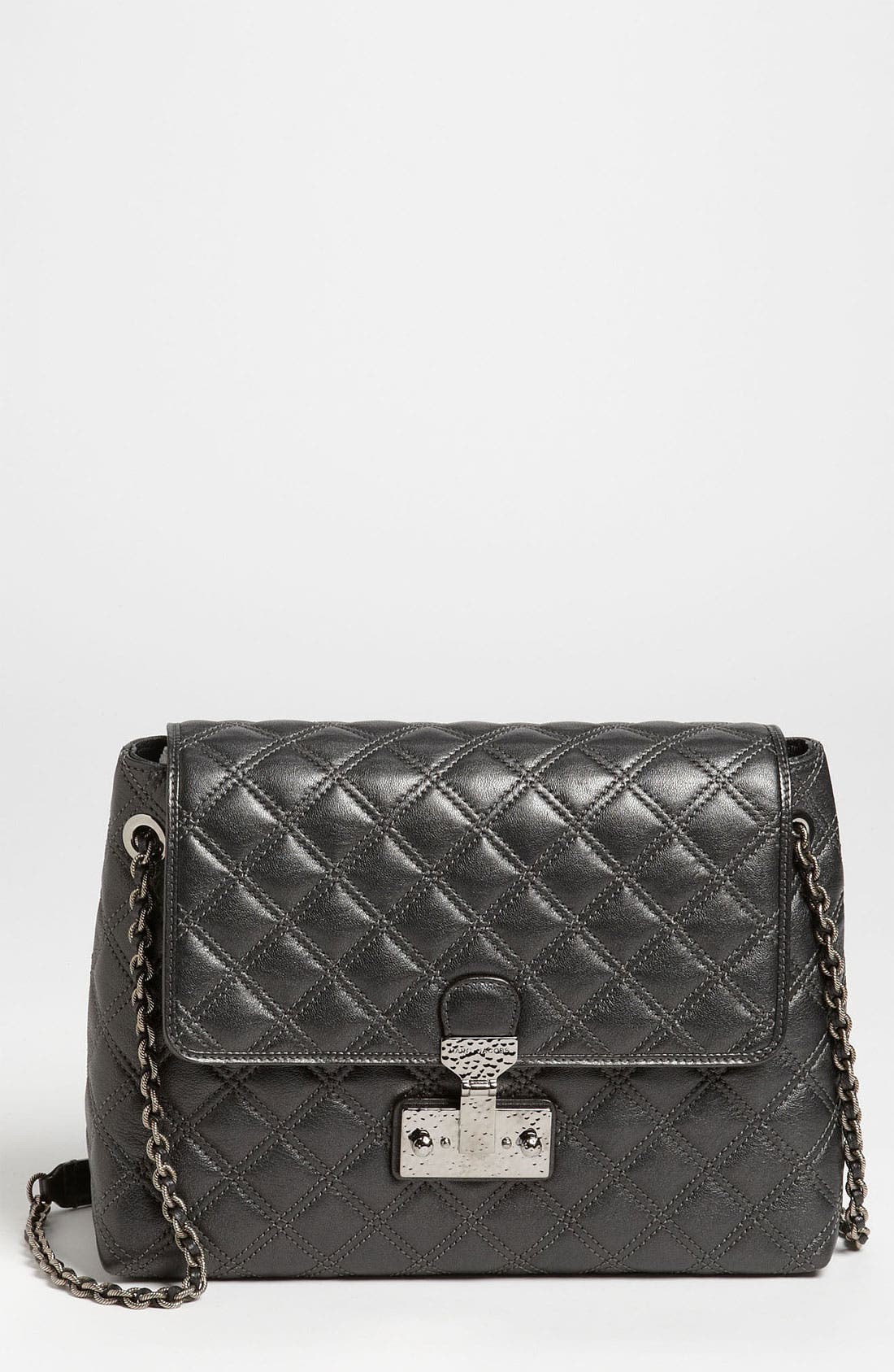 Alternate Image 1 Selected - MARC JACOBS 'Baroque XL Single' Leather Shoulder Bag