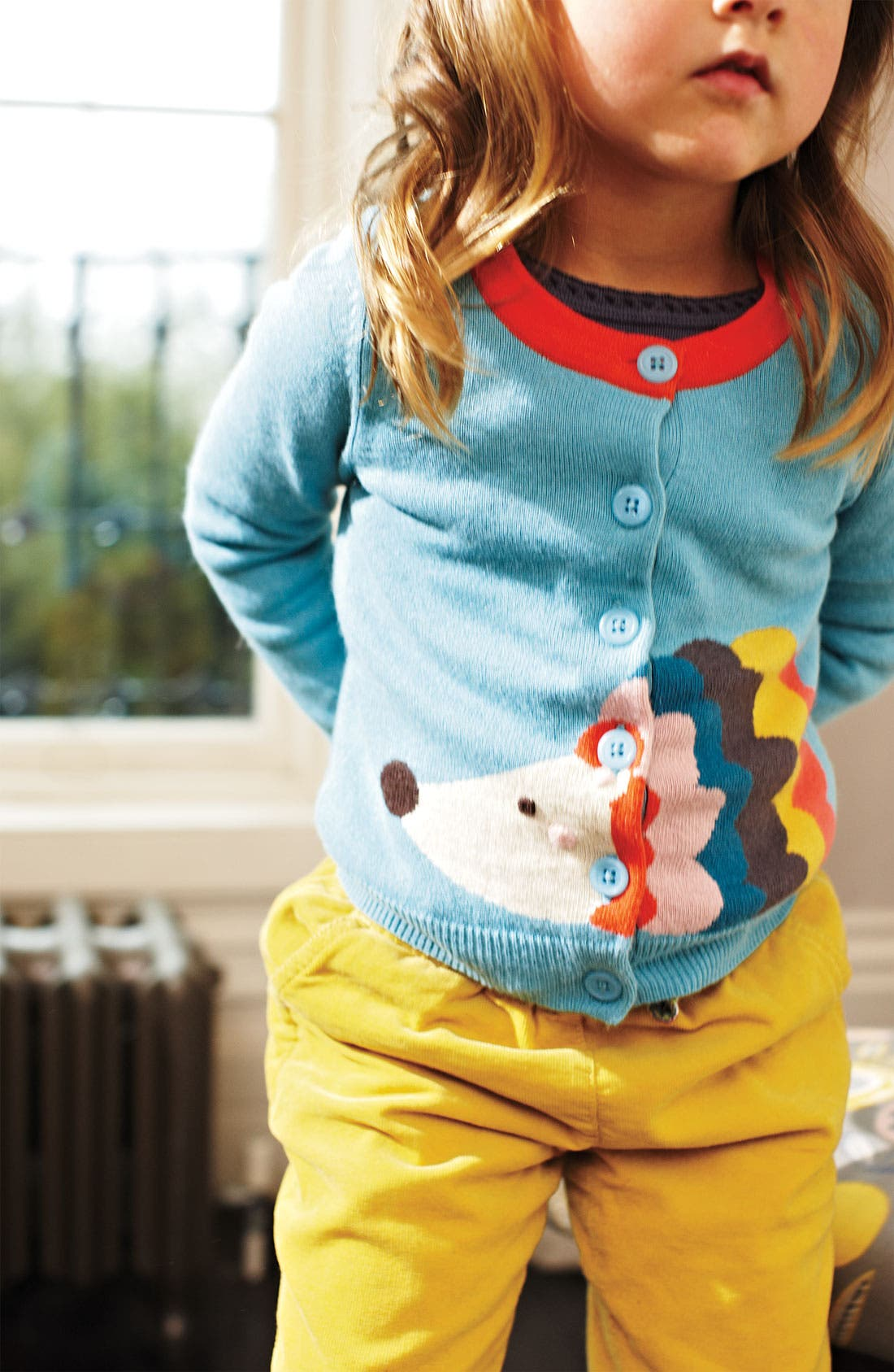 Alternate Image 2  - Mini Boden 'Fun' Cardigan (Little Girls & Big Girls)