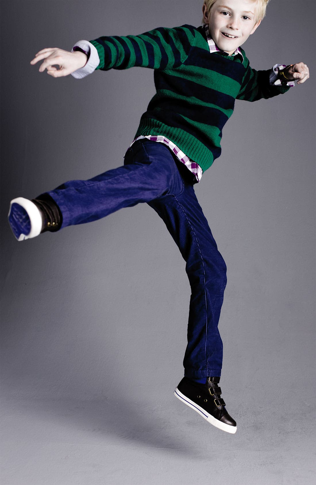 Alternate Image 2  - Mini Boden Sweater (Little Boys & Big Boys)
