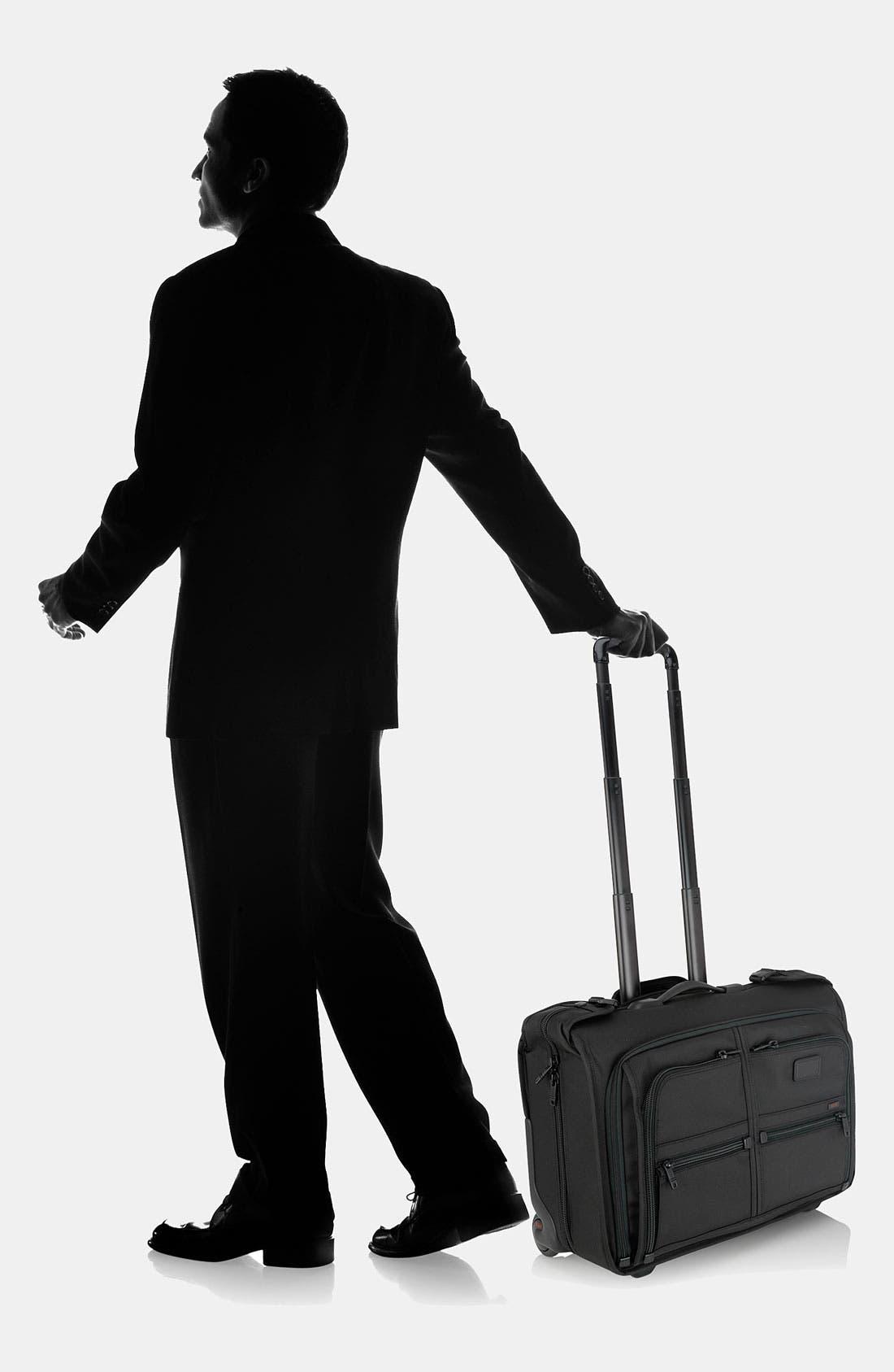 Alternate Image 7  - Tumi 'Alpha' Wheeled Carry-On Garment Bag