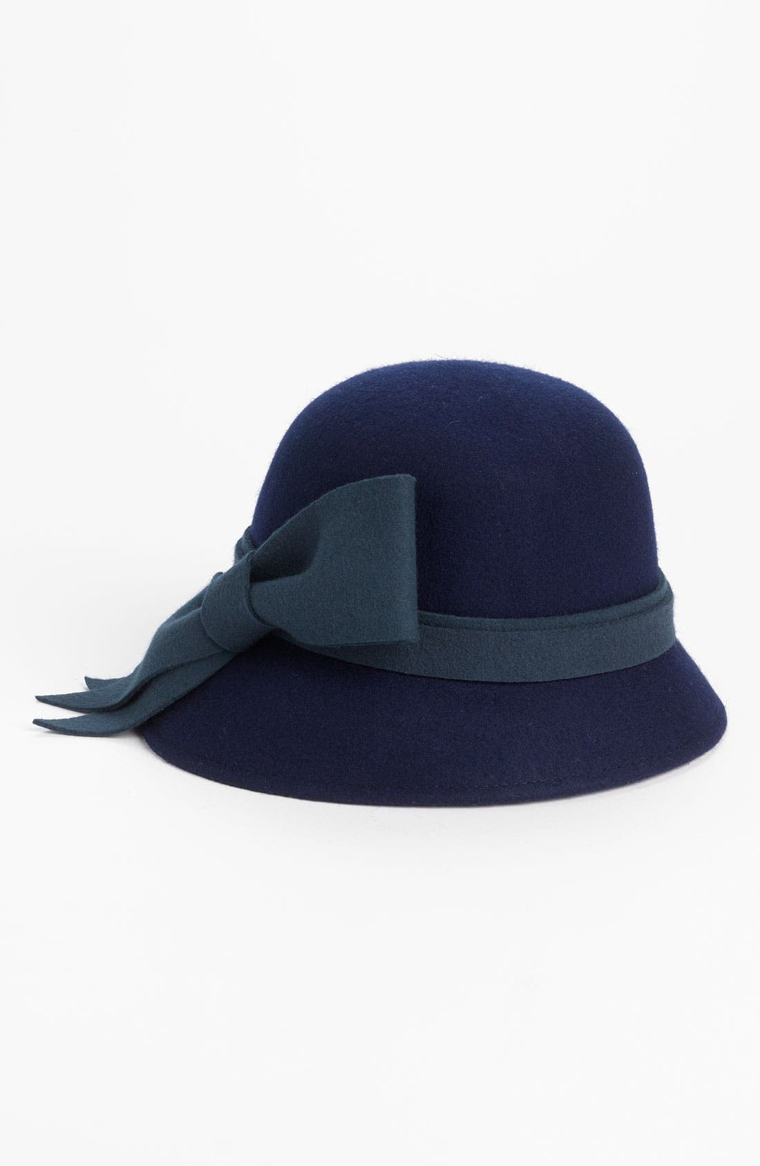 Alternate Image 1 Selected - Collection XIIX Heathered Bow Wool Cloche