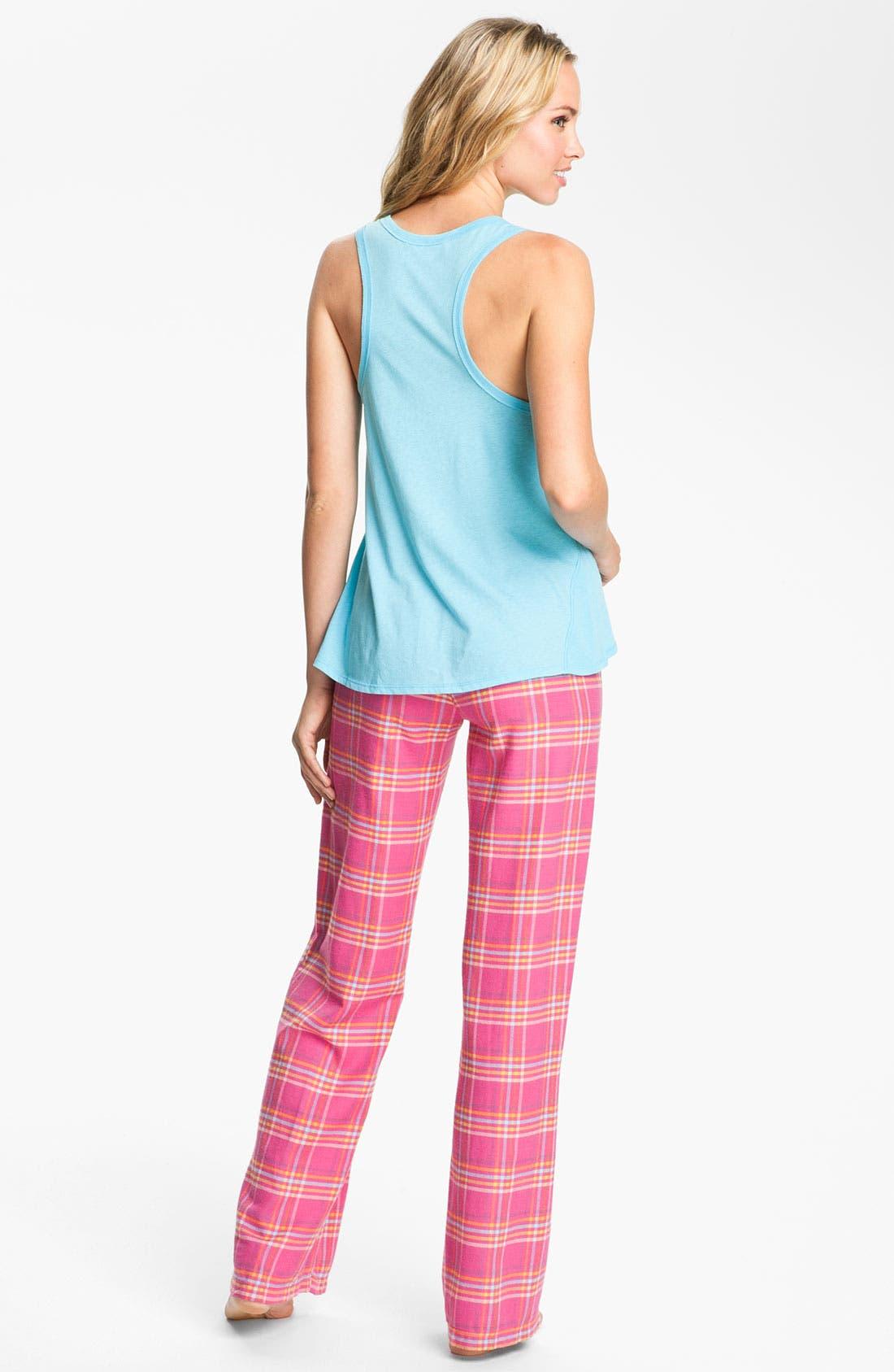 Alternate Image 5  - Steve Madden 'Mad4Plaid' Pajama Pants