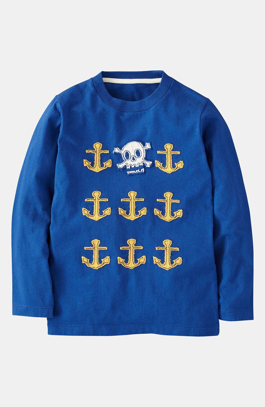 Alternate Image 1 Selected - Mini Boden 'Multi Logo' T-Shirt (Toddler)
