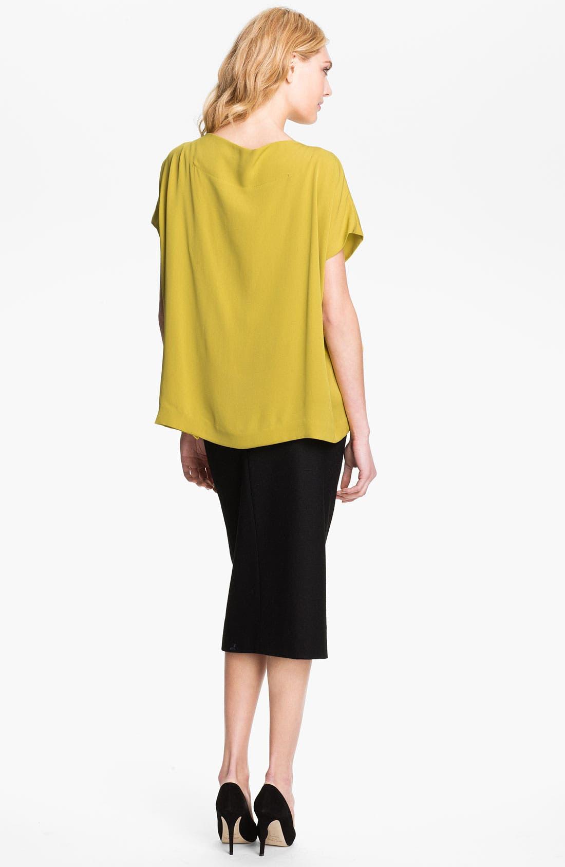 Alternate Image 2  - Diane von Furstenberg 'Goya' Silk Blouse