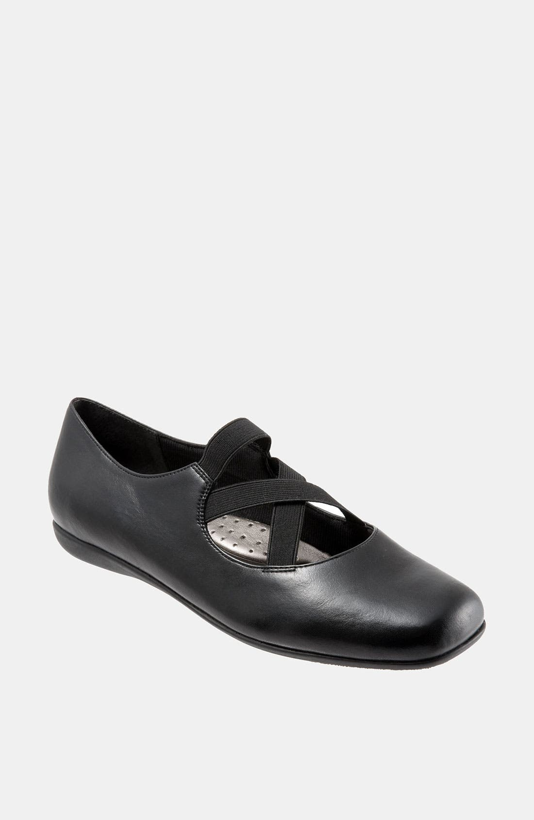 Alternate Image 1 Selected - Trotters 'Seeker' Nappa Leather Flat