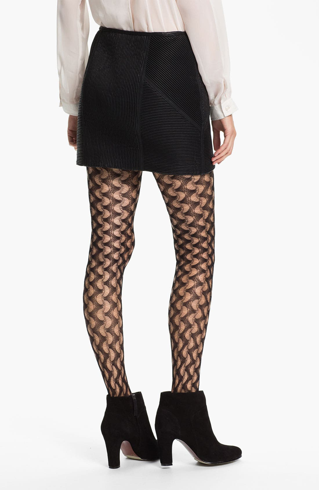 Alternate Image 2  - Free People Ribbed Faux Leather Skirt