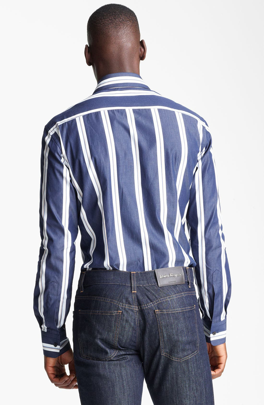 Alternate Image 2  - Salvatore Ferragamo Regular Fit Sport Shirt