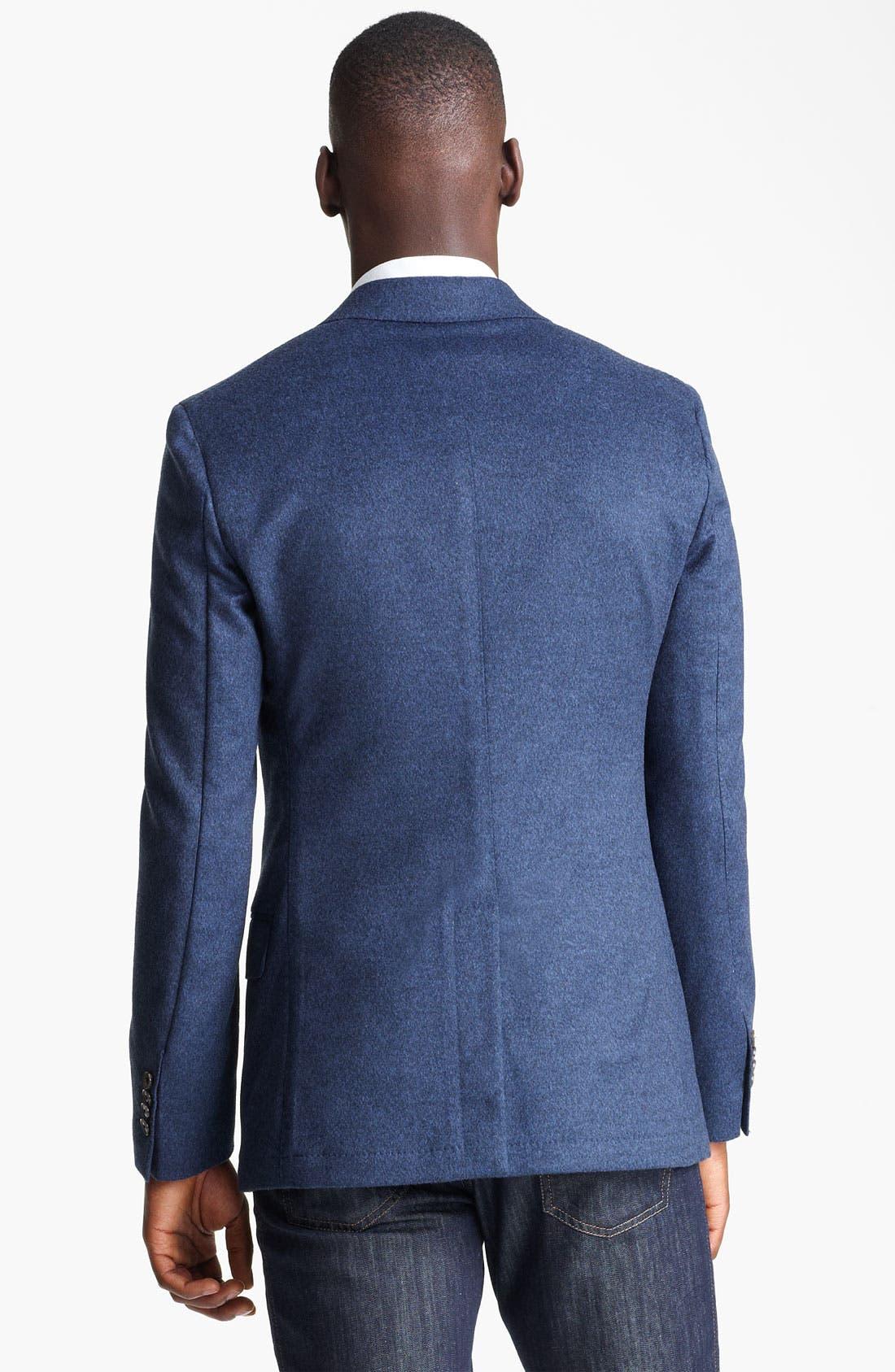 Alternate Image 2  - Salvatore Ferragamo 'Giacca Monopetto' Wool & Cashmere Sportcoat