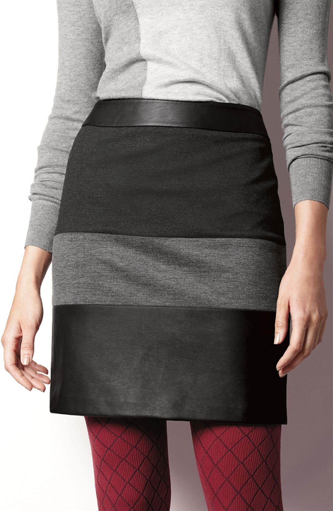 Alternate Image 4  - Halogen® Mixed Media Skirt