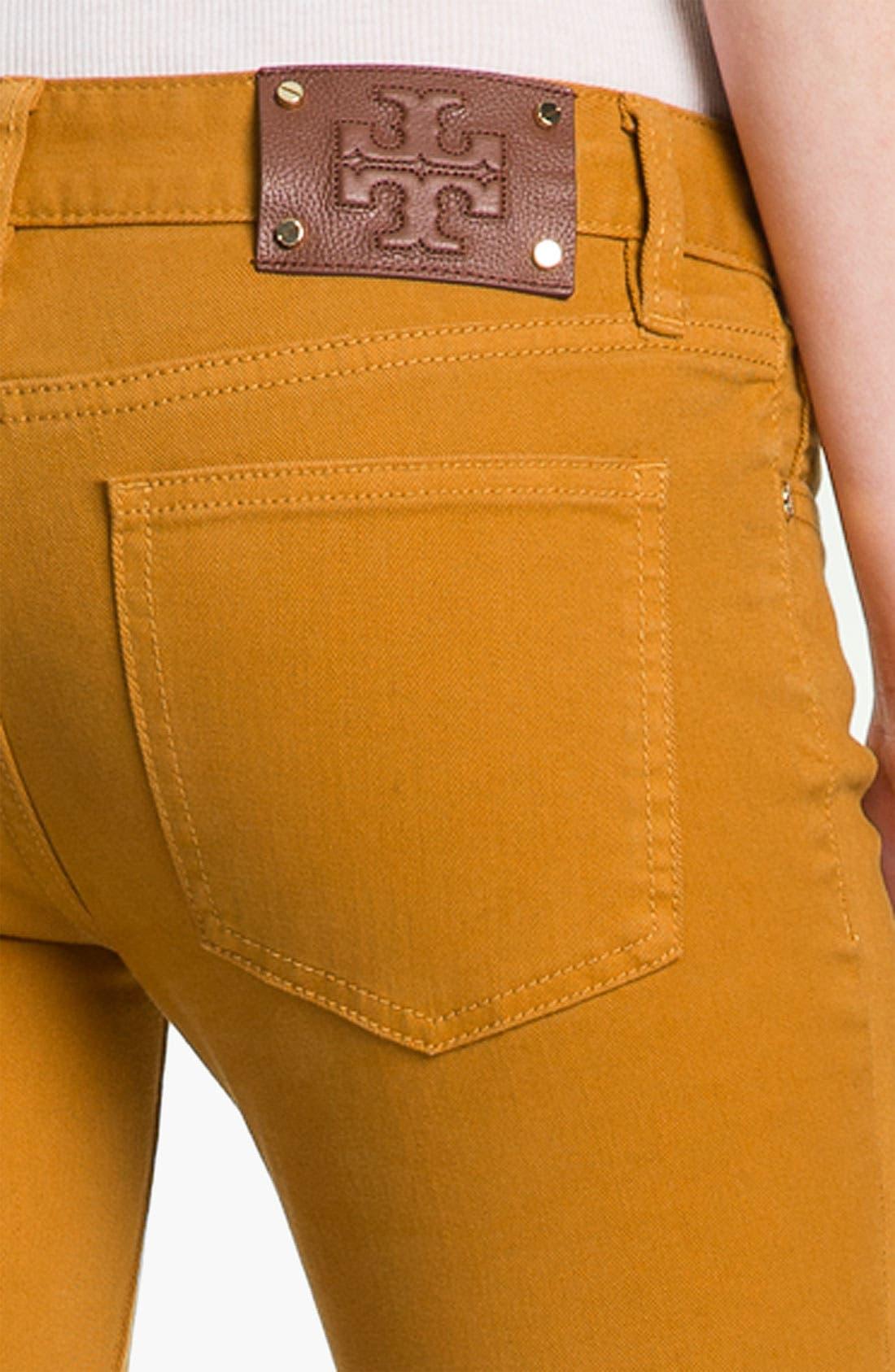 Alternate Image 3  - Tory Burch 'Ivy' Skinny Stretch Jeans