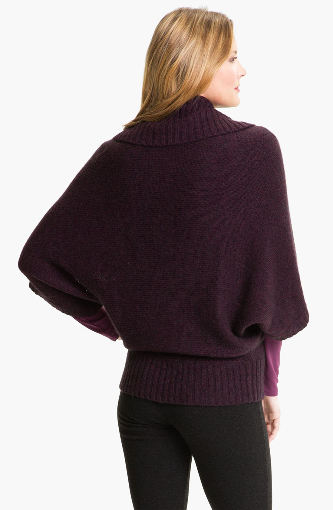 Alternate Image 2  - Eileen Fisher Funnel Neck Sweater