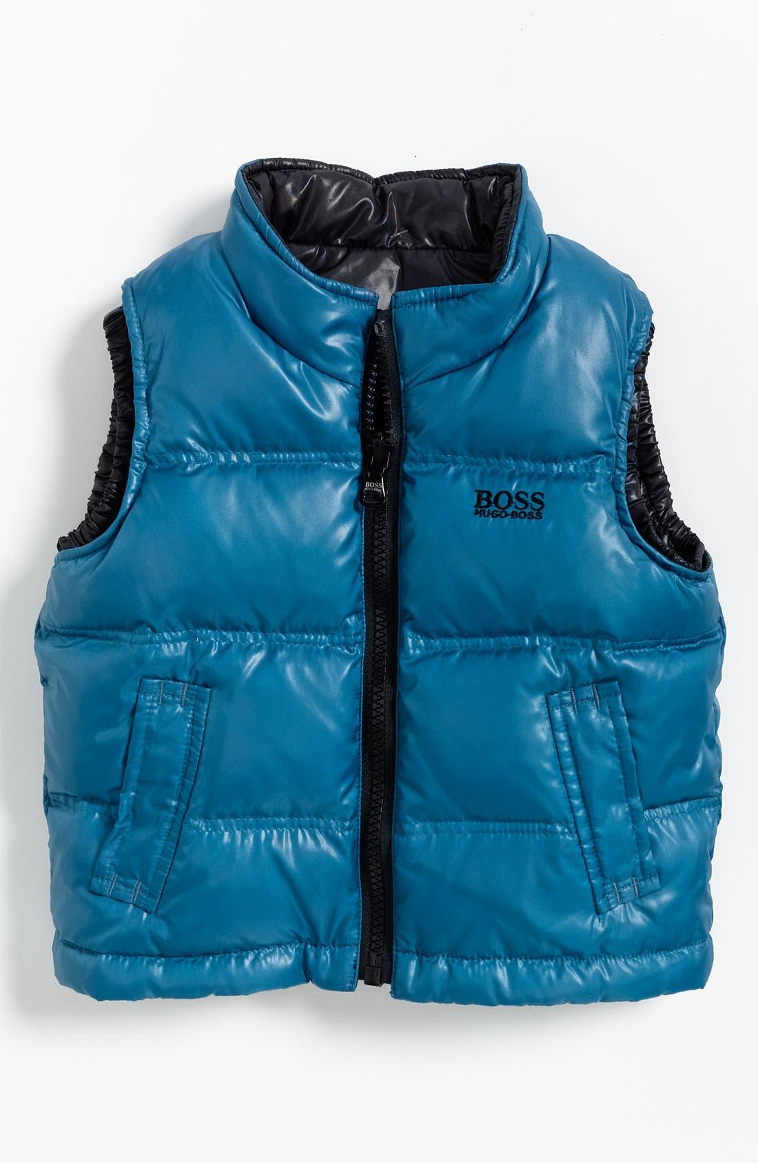 Alternate Image 1 Selected - BOSS Kidswear Reversible Vest (Infant)