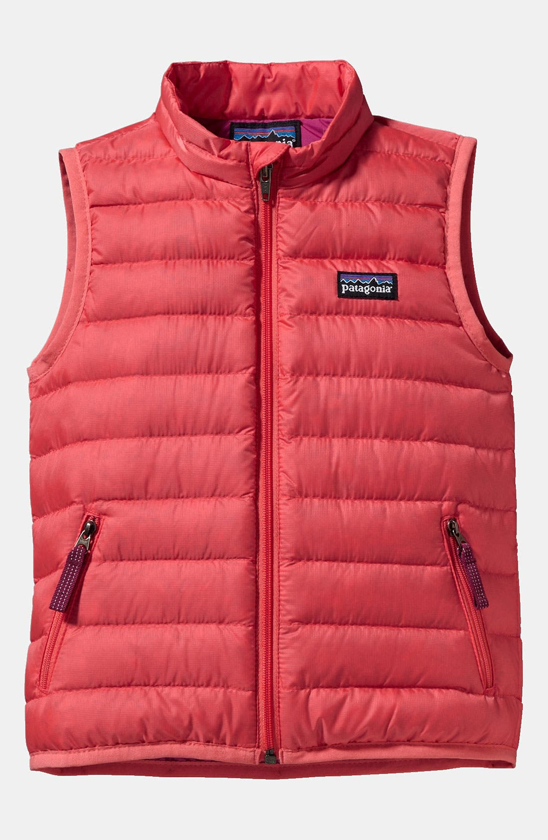 Alternate Image 1 Selected - Patagonia Down Sweater Vest (Baby Girls)