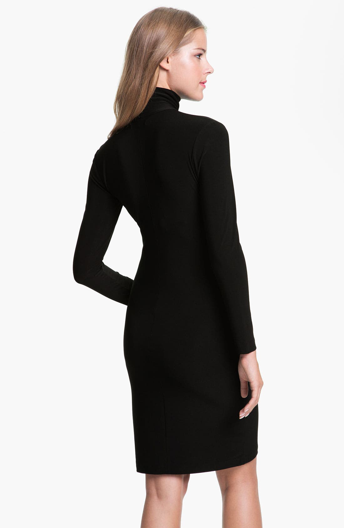 Alternate Image 2  - KAMALIKULTURE Turtleneck Dress