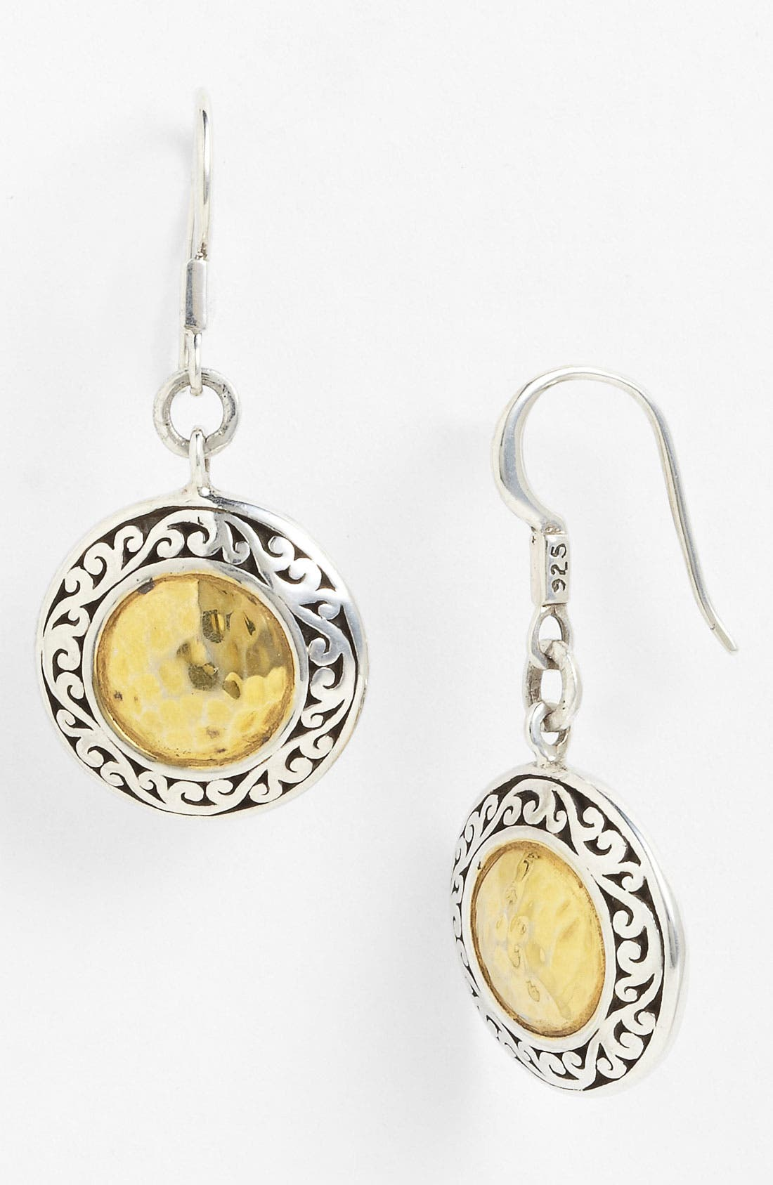 Alternate Image 1 Selected - Lois Hill 'Marquise' Round Drop Earrings