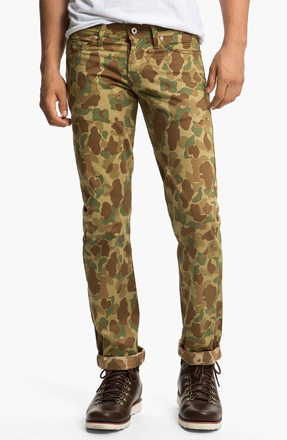 Alternate Image 2  - Naked & Famous Denim 'Weird Guy' Dual Camo Print Slim Tapered Leg Pants