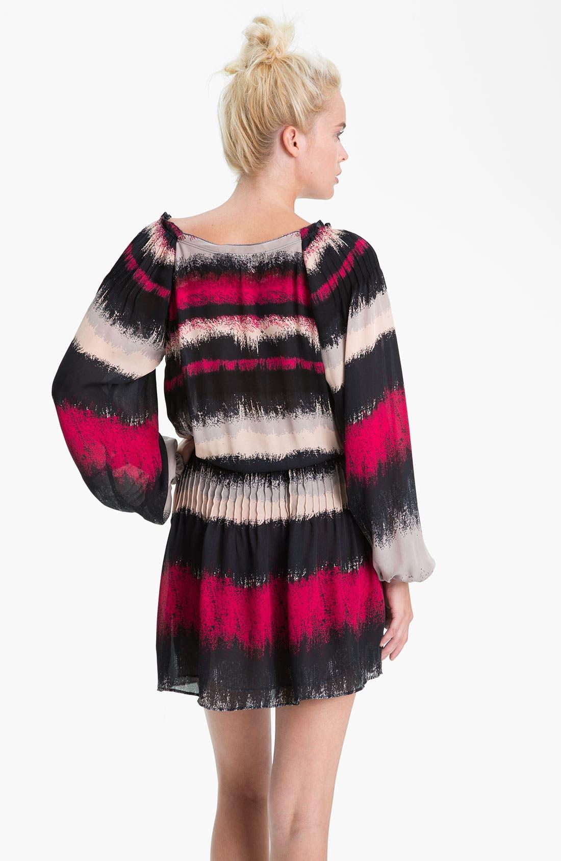 Alternate Image 2  - Parker Stripe Silk Dress