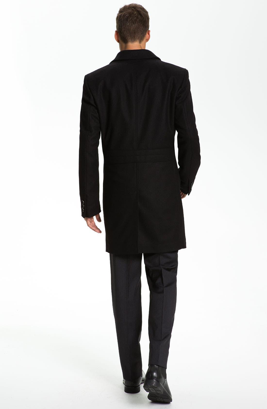 Alternate Image 4  - HUGO Slim Fit Dress Shirt