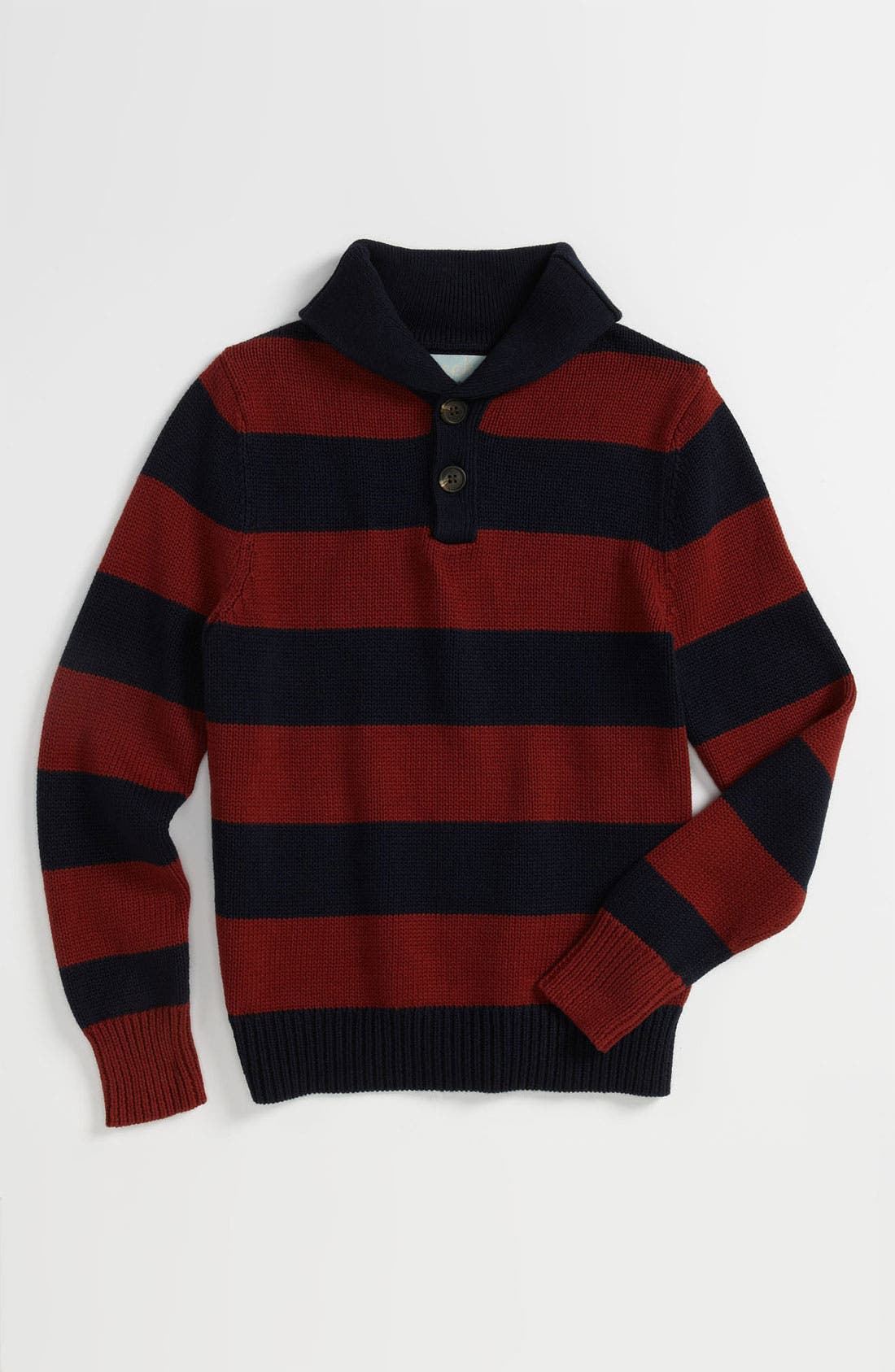 Alternate Image 1 Selected - Peek 'Cooper' Stripe Sweater (Toddler, Little Boys & Big Boys)
