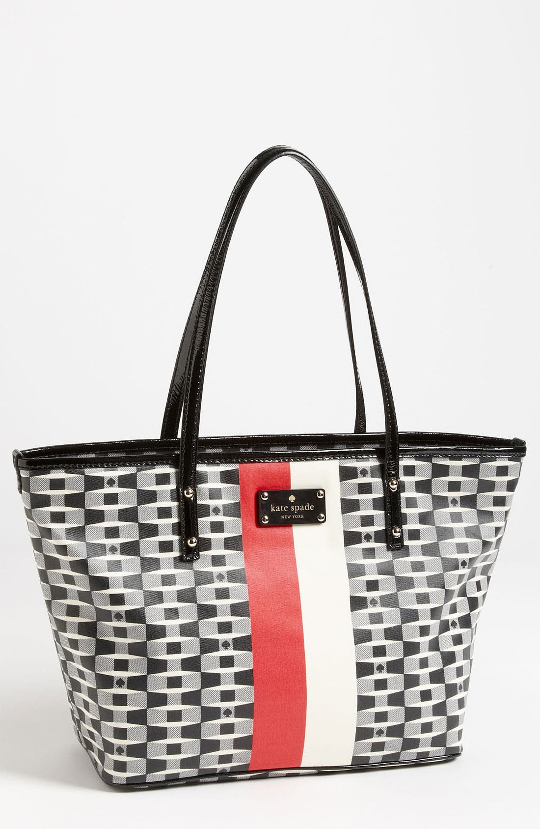 Alternate Image 1 Selected - kate spade new york 'signature spade harmony - small' tote