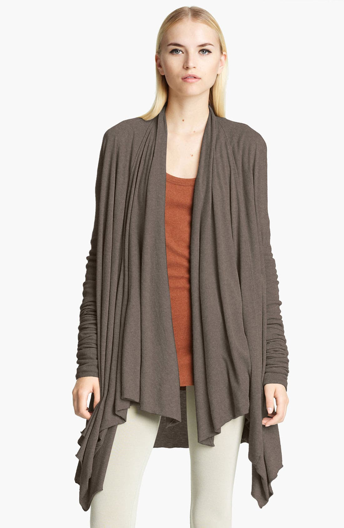 Alternate Image 1 Selected - Rick Owens Lilies Draped Jersey Cardigan