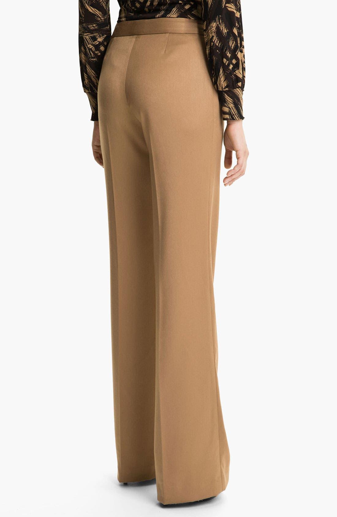 Alternate Image 2  - Anne Klein Wide Leg Pants (Petite)