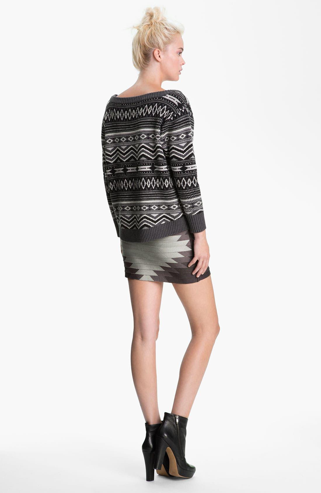 Alternate Image 5  - Haute Hippie Southwestern Merino Wool Sweater
