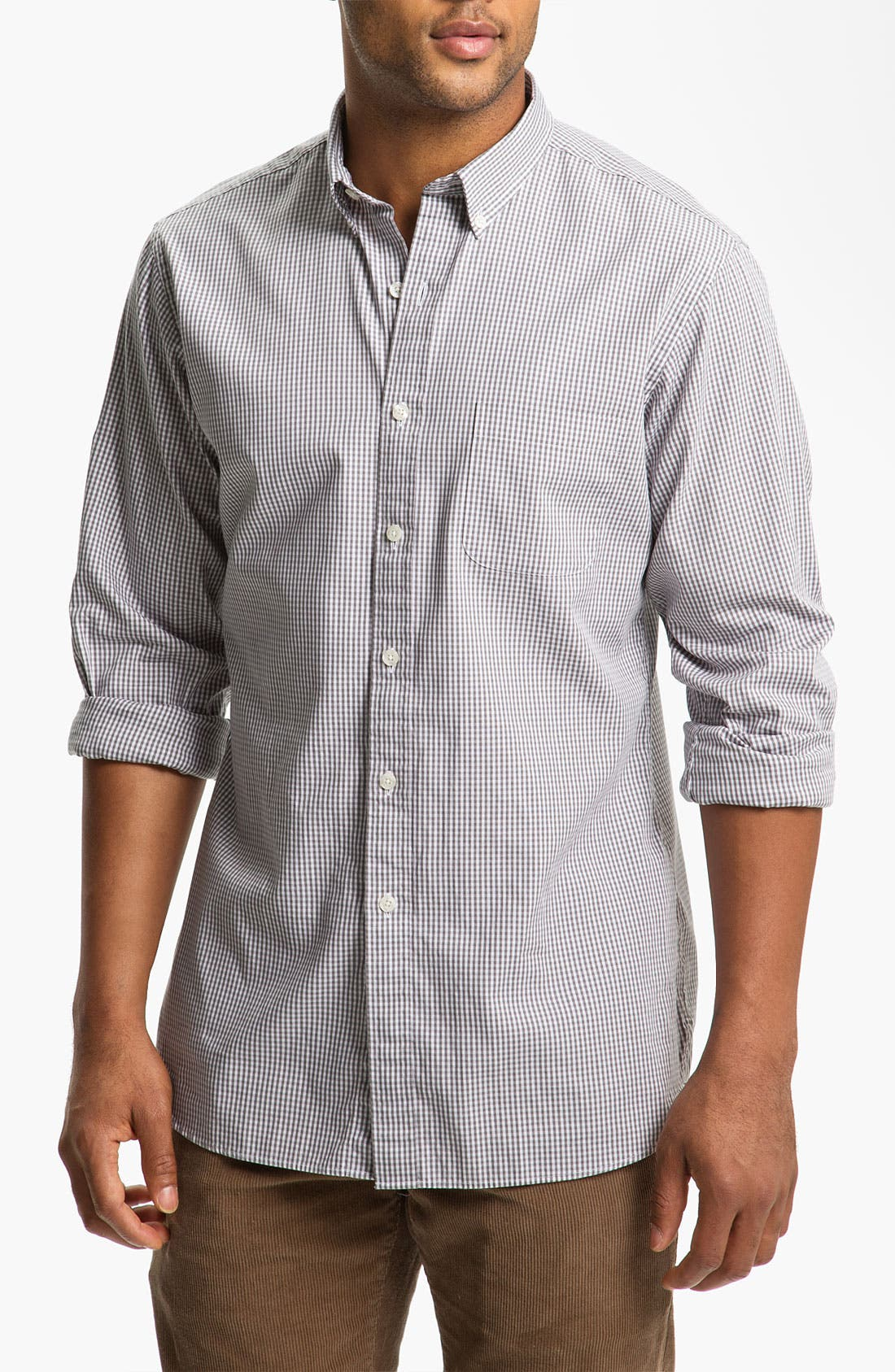 Alternate Image 1 Selected - Brooks Brothers Slim Fit Sport Shirt
