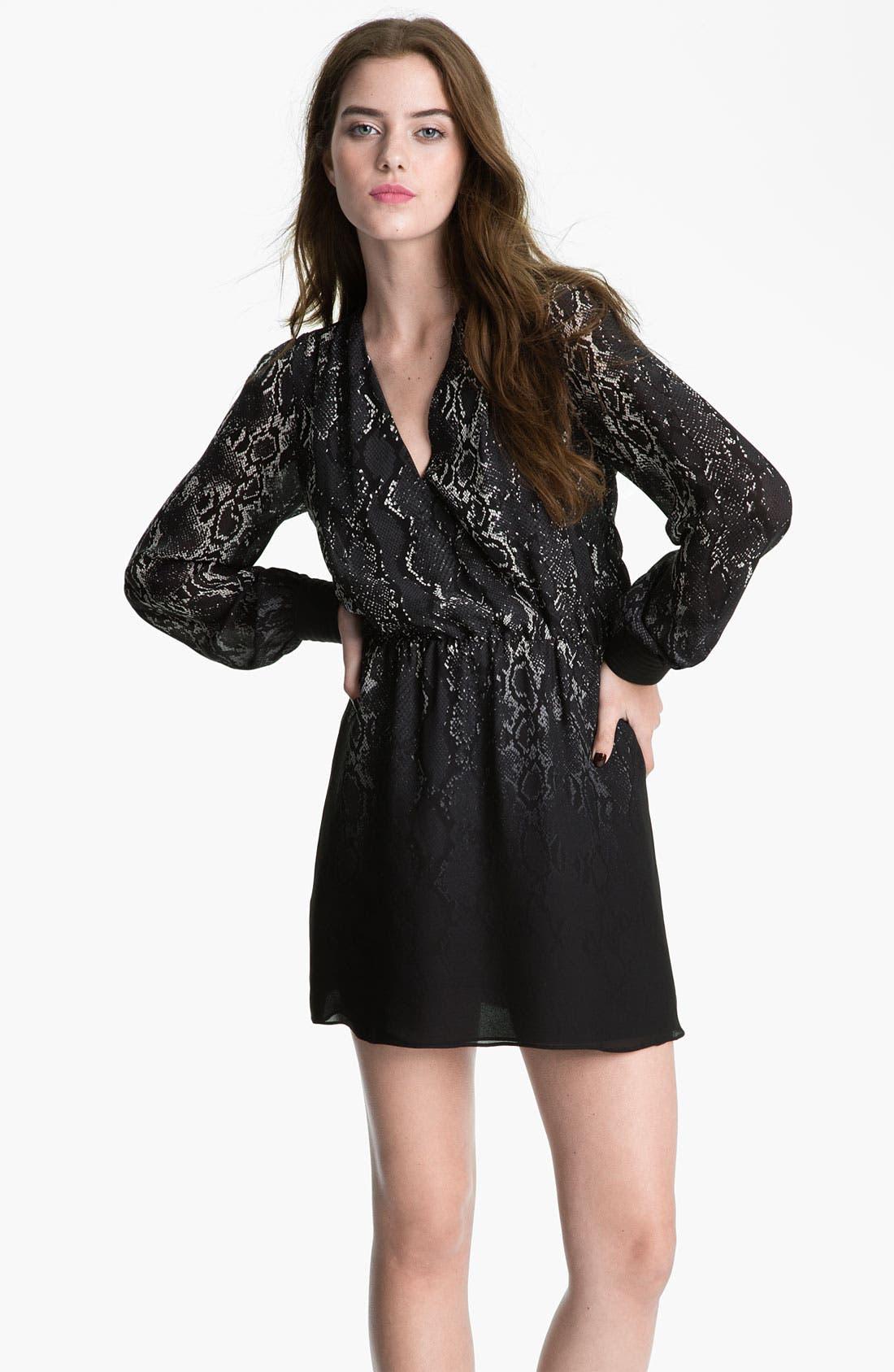 Alternate Image 1 Selected - Parker Print Silk Dress