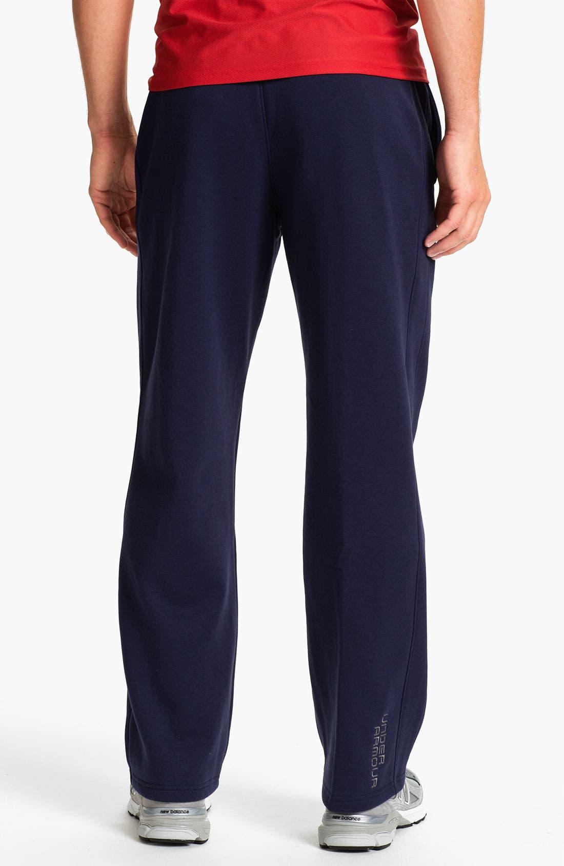 Alternate Image 2  - Under Armour Charged Cotton® Storm Fleece Pants