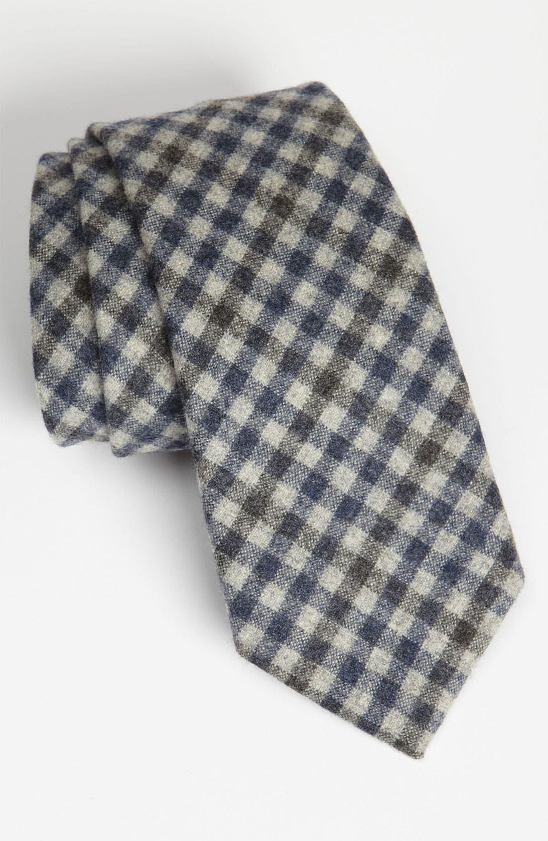 Main Image - Samuelsohn Woven Wool & Cashmere Tie