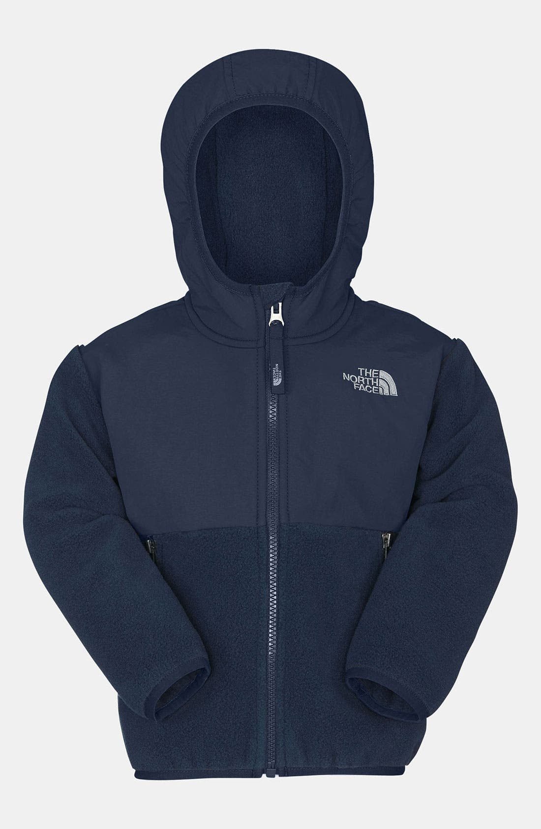 Alternate Image 1 Selected - The North Face Denali Fleece Hoodie (Big Girls)