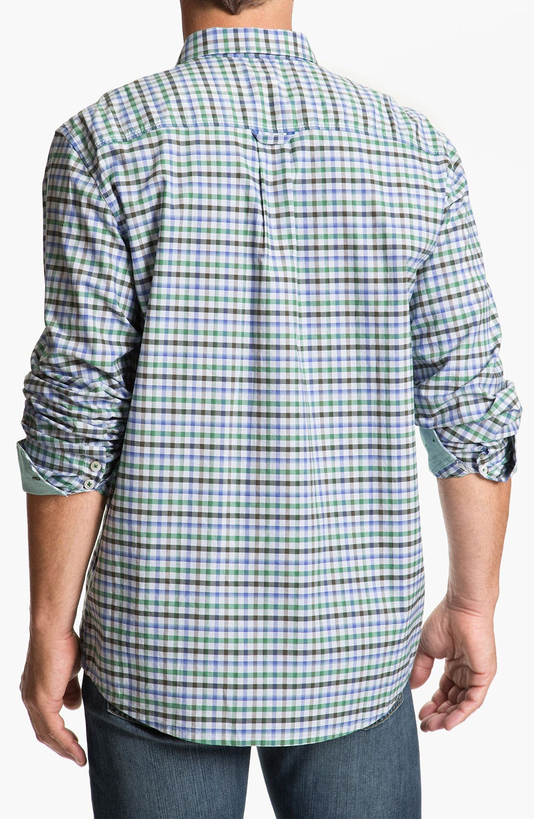 Alternate Image 2  - Tommy Bahama Denim 'Dai-Nam-Ic Plaid' Sport Shirt