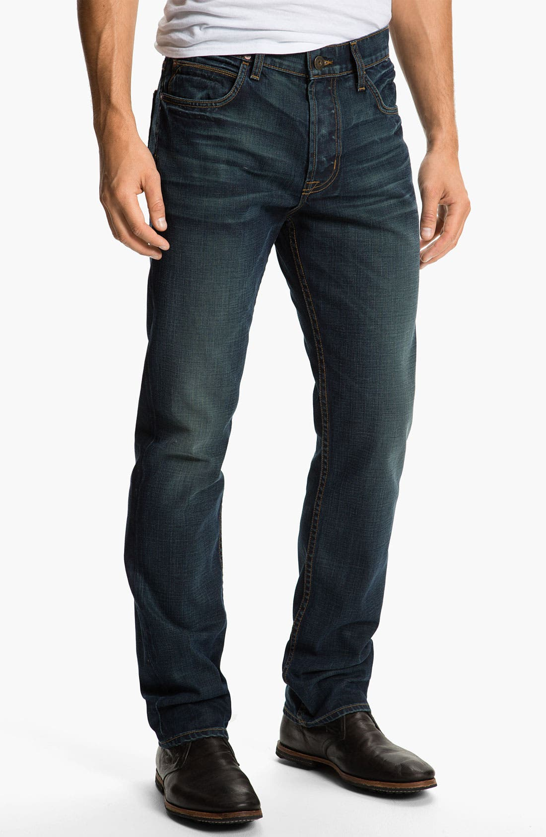 Alternate Image 2  - Hudson Jeans 'Dandy' Slouchy Straight Leg Jeans (Shovel)