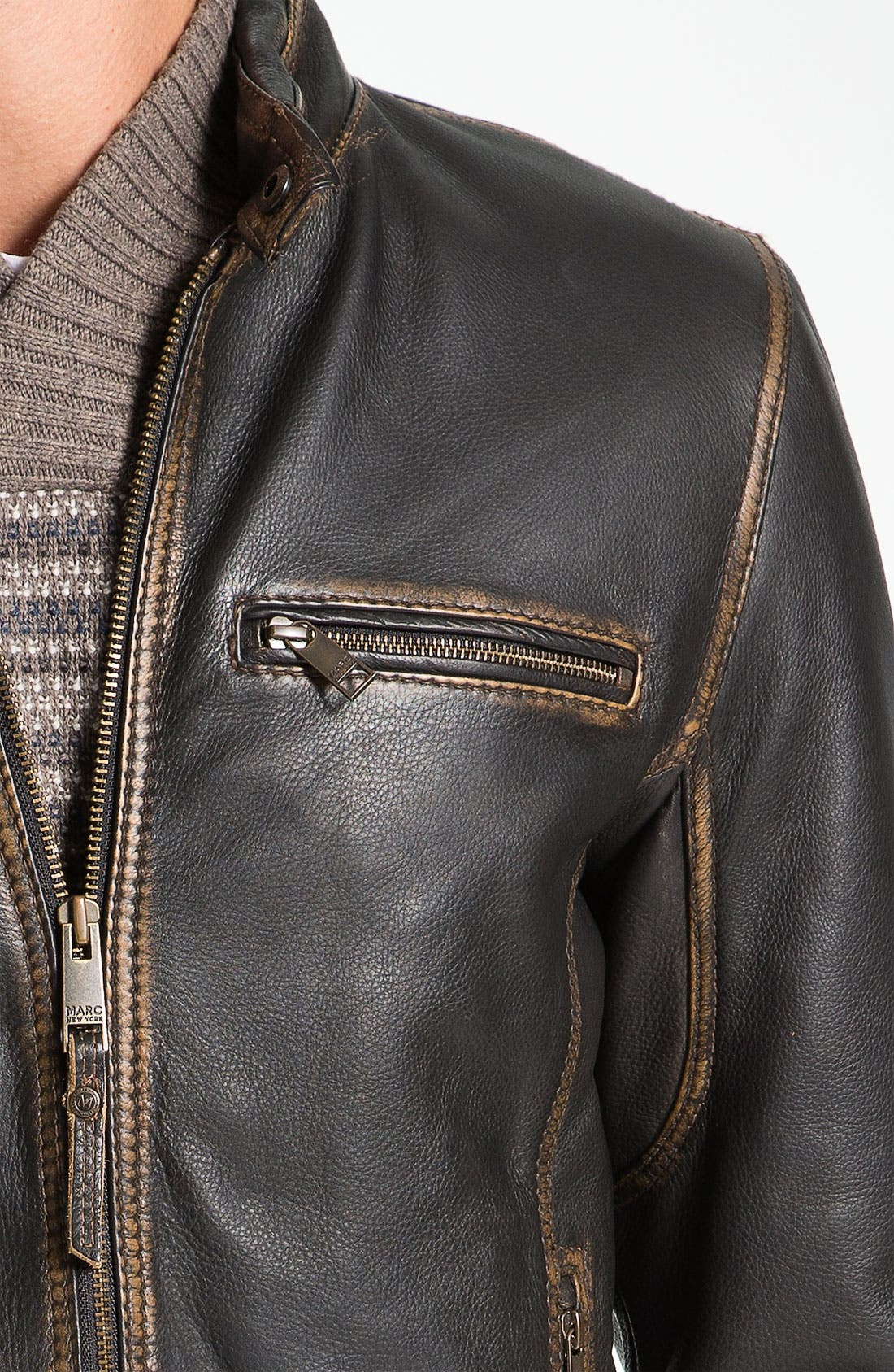 Alternate Image 3  - Marc New York by Andrew Marc 'Cuervo' Leather Jacket