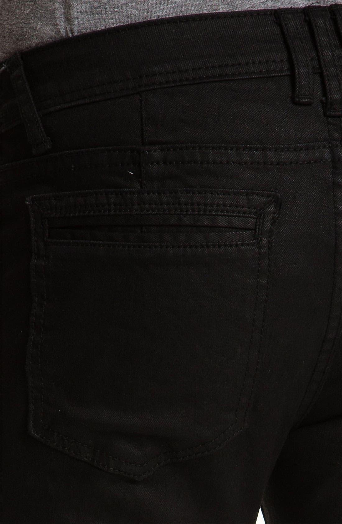Alternate Image 4  - Ezekiel 'Chopper 305' Slim Straight Leg Jeans (Black)