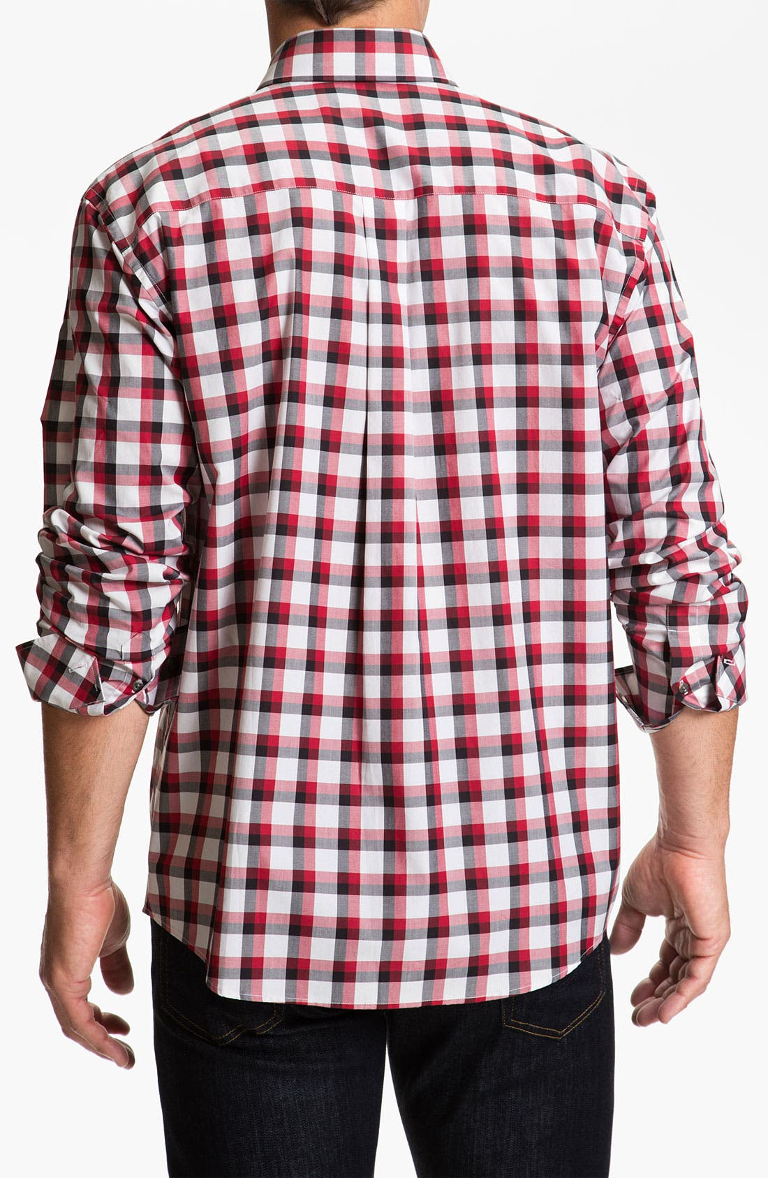 Alternate Image 2  - Cutter & Buck 'Cinder Cone' Check Sport Shirt