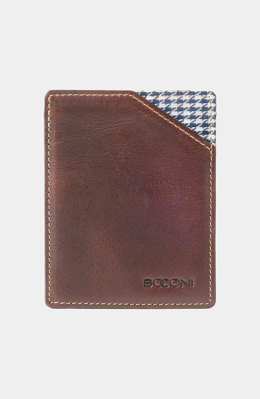 Alternate Image 1 Selected - Boconi 'Bryant' RFID Blocker Card Case