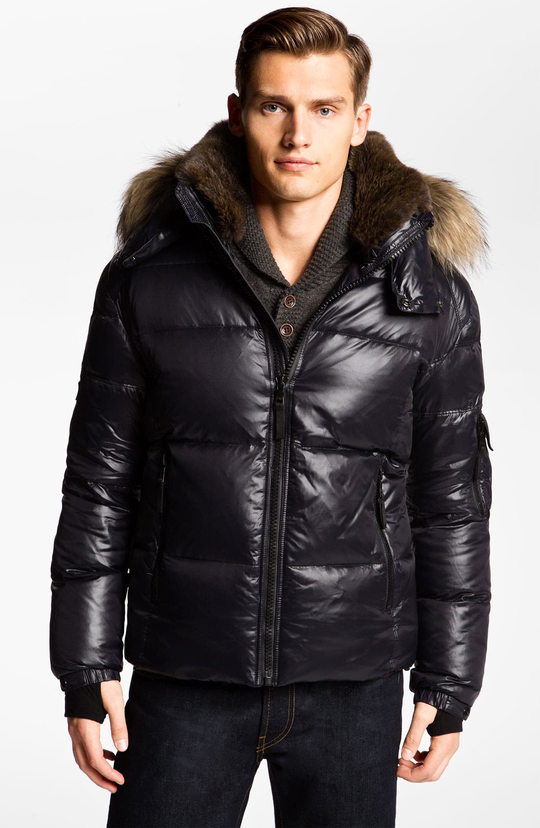 Main Image - Sam 'Icon' Quilted Goose Down Jacket