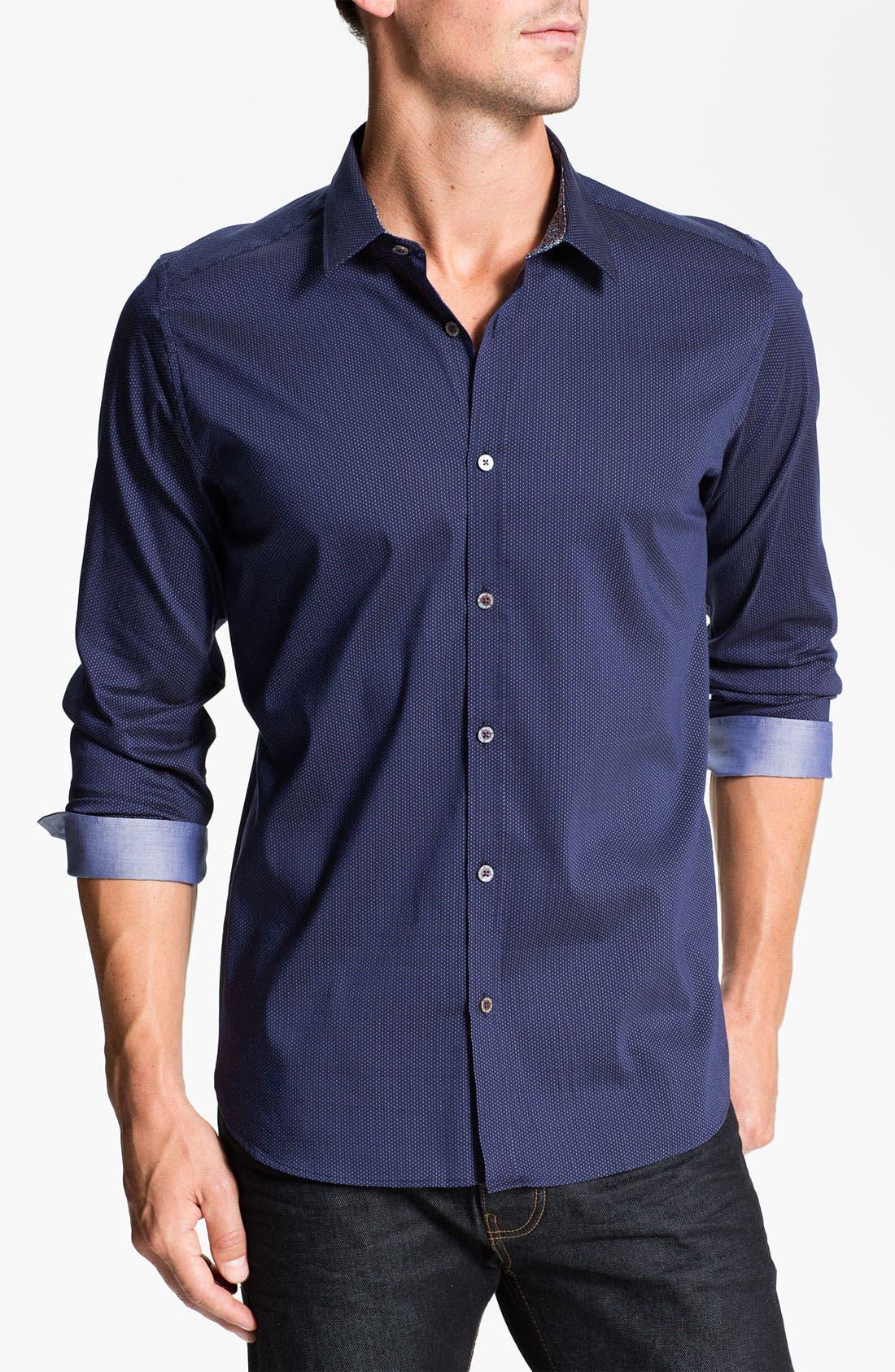 Alternate Image 1 Selected - Ted Baker London 'Tantic' Sport Shirt